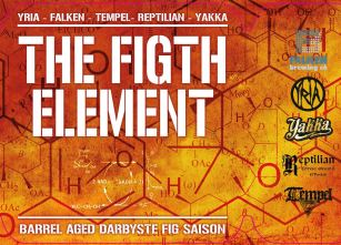 The Figth Element kranskylt