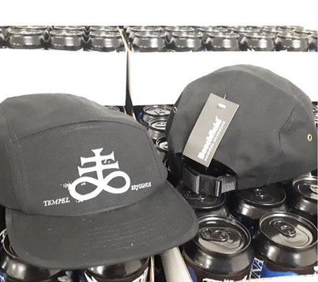 Keps med Tempel logo